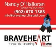 BraveHeart First Aid Training, New Minas NS