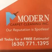 Modern Carpet Cleaning, Aurora IL