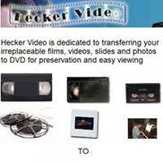 Hecker Video Film Transfer Nassau Suffolk LI, Holbrook NY