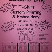 Leisure Line Custom Embroidery, Haverhill MA