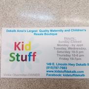 Kid Stuff, Dekalb IL