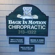 Back In Motion Chiropractic and Massage, Wilmington NC