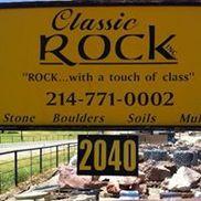 Classic Rock Stone Yard, Rockwall TX