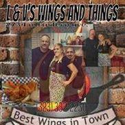 L&V'S Wings N Things, El Sereno CA