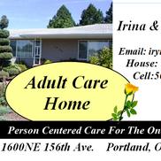LUPU ADULT CARE HOME, Portland OR