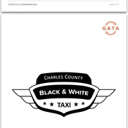 Black and white taxi waldorf md