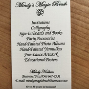 Mindy's Magic Brush Cherry Hill, NJ, Cherry Hill NJ