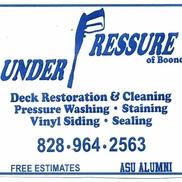 Boone Under Pressure, Boone NC