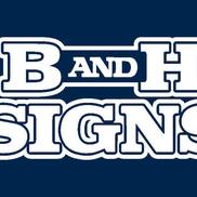 B and H Signs, Monrovia CA