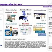 MassageProducts.com, Mountain View CA