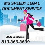 Ms Speedy Legal Document Services Tampa FL Alignable - Legal document services