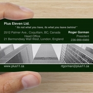 Plus Eleven Ltd, Coquitlam BC