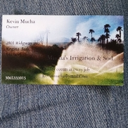 Mucha's Irrigation and synthetic grass, Regina SK
