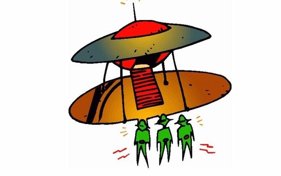 alien spacecraft clipart - HD1291×1391