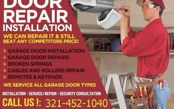 Garage Door Repair. Broken Spring. Door Off Track. Remote Not Working.  Noisy Door. Roller Off. Opener Problem.