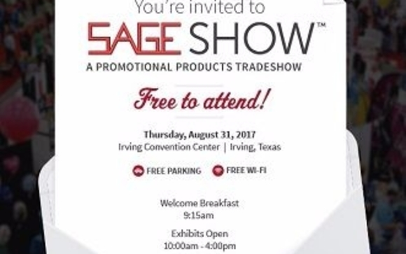Promotional Products Tradeshow BY INVITATION ONLY by Logotricity