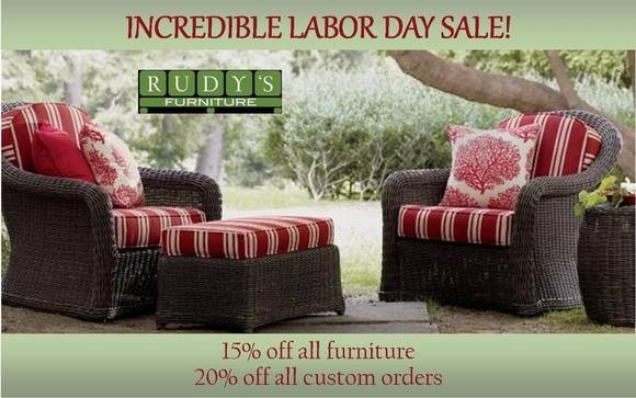 You Donu0027t Want To Miss This Sale! All Furniture In The Warehouse Will Be  15% Off And We Are Offering 20% Off All Custom Orders! Stop By And Check  Out All Of ...