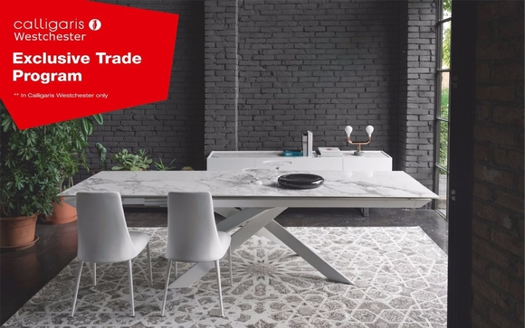 With Calligaris Westchester Trade Program You Will Receive 35% Off All  Products, Support For Your Design Business, As Well As Access To A Single  Point Of ...