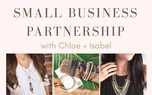Small business partnership promotion extended by chloe and isabel now thru january 31st my company is offering a visa gift card up to 500 to any boutique or hair salon partnering with me for a successful event colourmoves