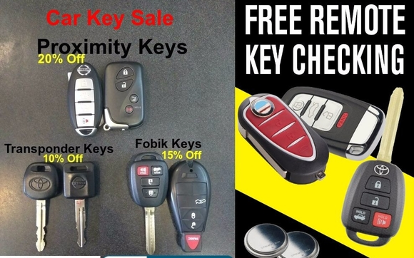 car key fob sale by advanced security safe and lock in baltimore