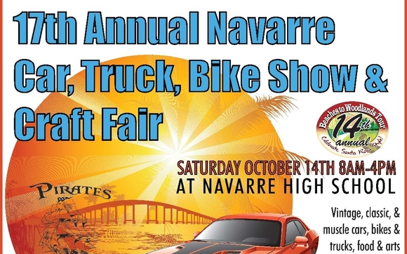 Th Annual Navarre Beach Car Truck Bike Show And Craft Fair By - Keller car show
