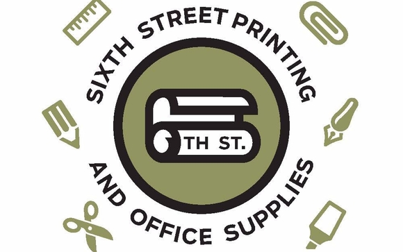 Now Selling Office Supplies! Sixth Street Printing Has Been Serving Austin  For Over 30 Years!