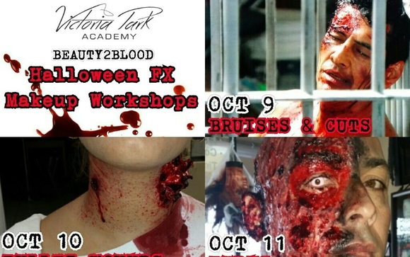 Halloween FX Makeup Workshops by Victoria Park Beauty Academy in ...