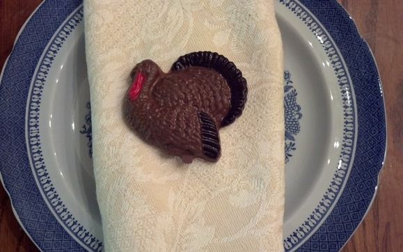 1415663721 chocolate turkey table flavor close up plate 2013
