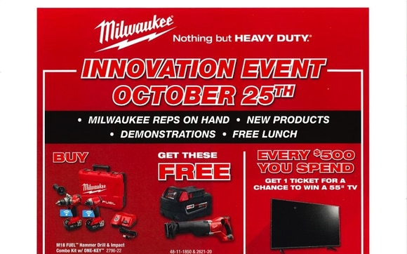 1508509985 undefined  sc 1 st  Alignable & Milwaukee Tool Counter Day by Ferguson Bath Kitchen u0026 Lighting ...