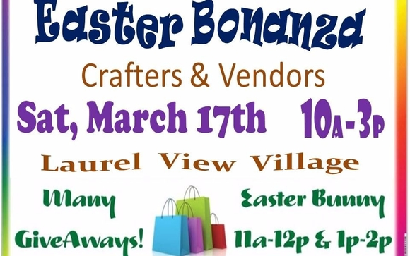 Easter craft vendor customer appreciation bonanza by jspa sales love free gifts that my folks is a craft vendor customer appreciation bonanza admission free open to the public easter bunny negle Gallery