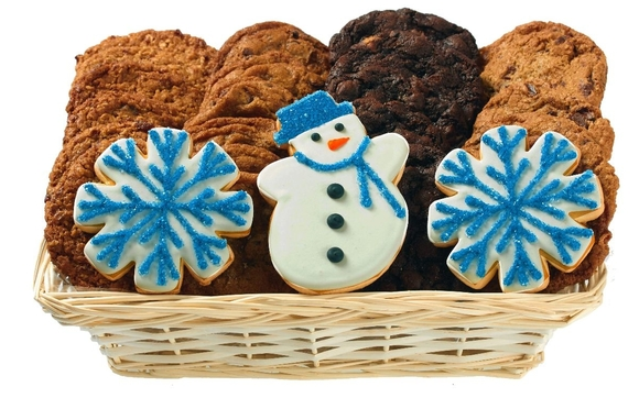 Holiday and christmas cookie delivery by cookie delivery