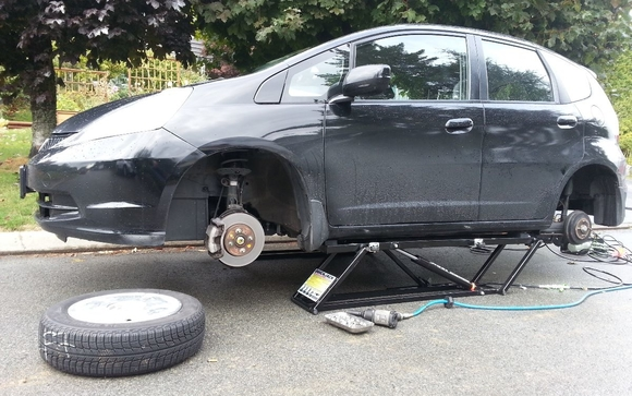 Mobile Tire Shop Repair Company We Sell New Tires By Jtv Tire