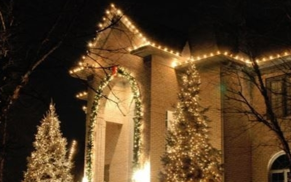 christmas light limo tours by lifestyle limousine company in