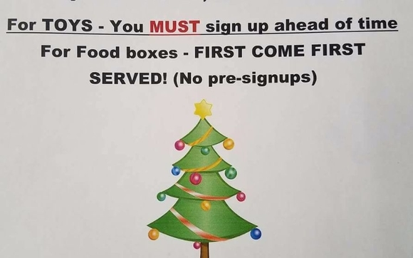 free free food and toys from the ministry of faith food fridays wwwfaithfoodfridayscom - Sign Up For Free Christmas Toys