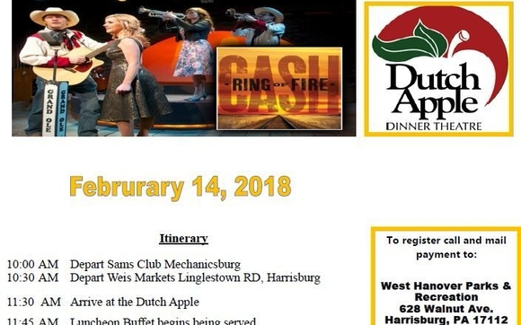 Ring Of Fire At Dutch Apple Dinner Theatre By West Hanover Township