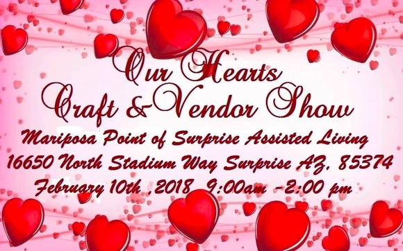 Our Hearts Craft And Vendor Show By Melaleuca Health And Wellness In