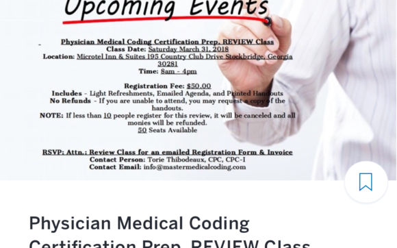 Physician Medical Coding Certification Prep. REVIEW Class by ...