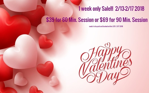 Valentine S Day Special Sale By Pure Massage Therapy In Crystal