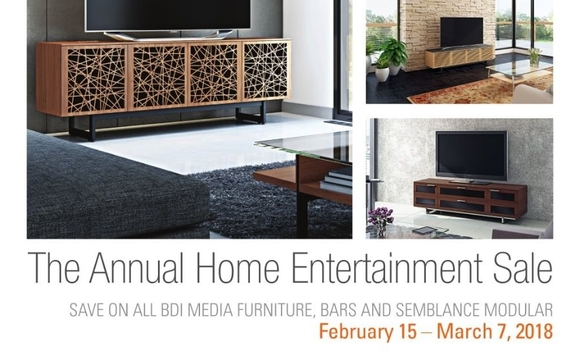 Save Hundreds On BDIu0027s Quality Entertainment Furnishings From February 15    March 7, 2018. BDIu0027s Modern And Contemporary Pieces Are Sure To Impress In  Both ...