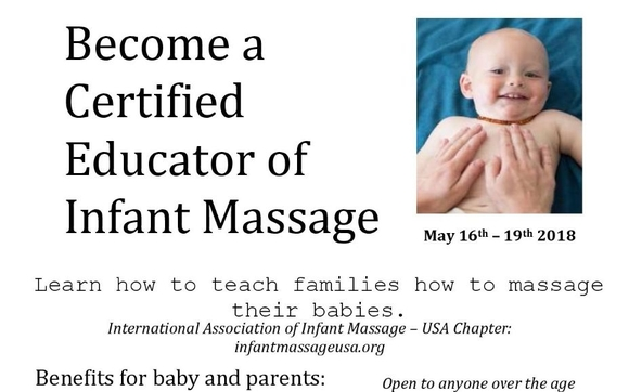 Certified Educator of Infant Massage - Ely, Iowa by Family Massage ...