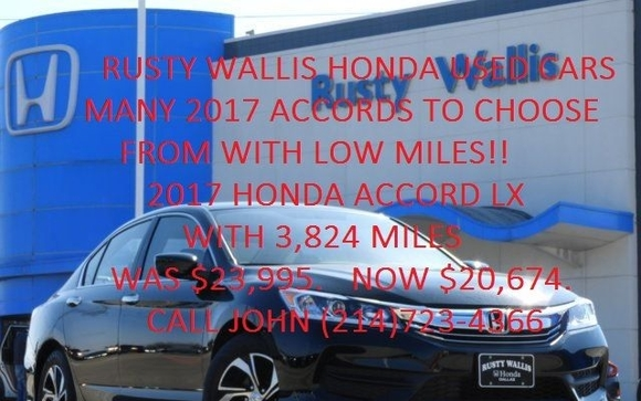 Rusty Wallis Honda Has Been Serving The Dallas Area For Over 40 Years And  Has The Highest Reviews For Customer Service And Customer Satisfaction ...