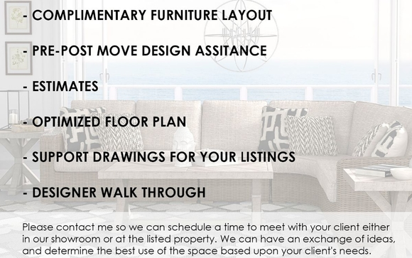 Charmant We Are Floridau0027s Highest Consumer Rated Furniture Dealer. Let Us Help You  Sell More Properties. Weu0027ll Do A Free Presentation Highlighting Your  Listingu0027s ...