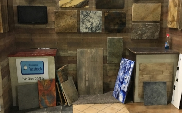 stop by and see twin cities icoat booth 2646 at the minneapolis home and garden show for all your flooring and countertop needs - Minneapolis Home And Garden Show