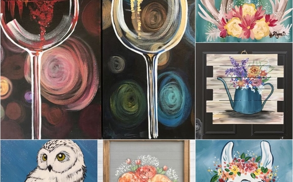 Upcoming Paint And Sip Parties By Painting With A Twist In Flower