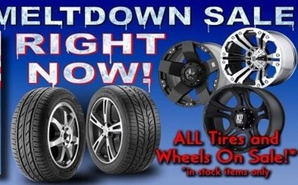 Spring Meltdown Sale By American Tire Auto In Fairbanks Ak