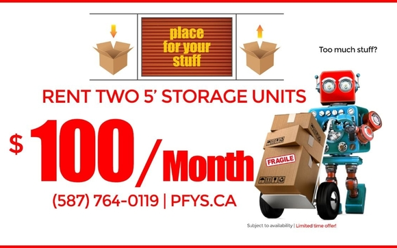 To Rent Storage Units, Please Visit Us At Http://www.pfys.ca/pages/rent