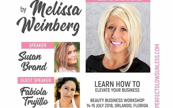 Beauty Business Building Workshop & Spray Tan Certification by ...