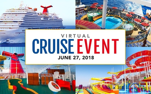 Virtual Cruise Event With Carnival By Dream Vacations Shirley And