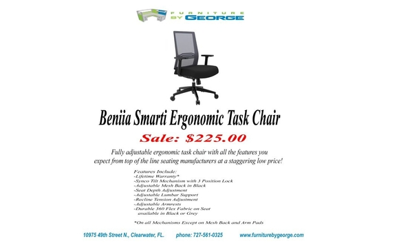 Fully Adjustable Ergonomic Task Chair With All The Features You Expect From  Top Of The Line. Seating Manufacturers At A Staggering Low Price