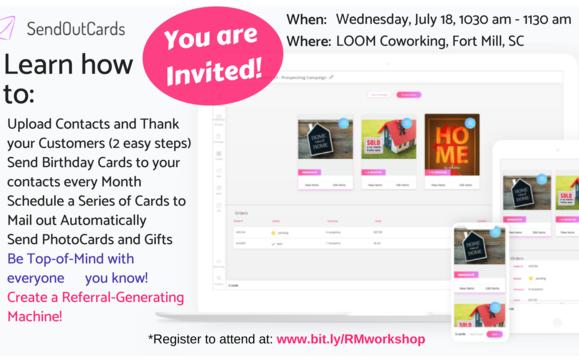 Live Relationship Marketing Workshop For Charlotte Business Owners